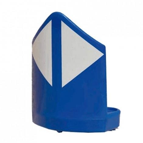Baliza divergente 70cm Azul