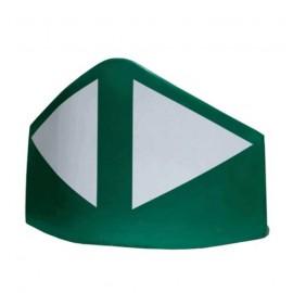 Baliza divergente 120cm Verde
