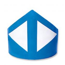 Baliza divergente 120cm Azul